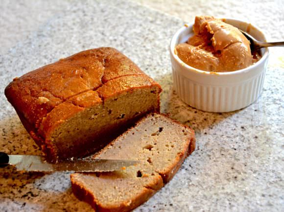 Too Good to be True Peanut Butter Banana Bread