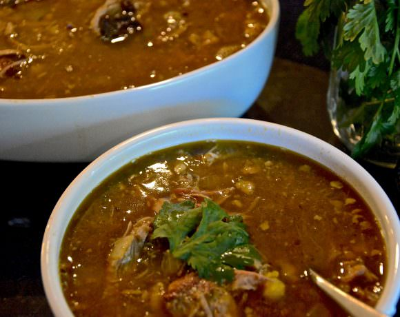 Smoked Pork Chili Verde