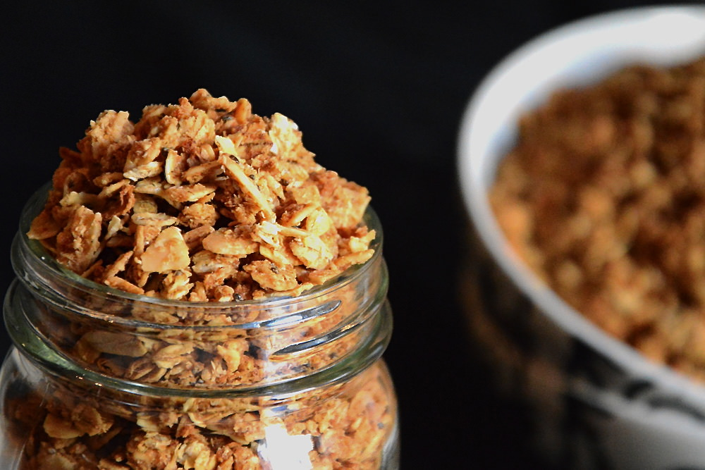 Maple Coconut Butter Quinoa Granola 4