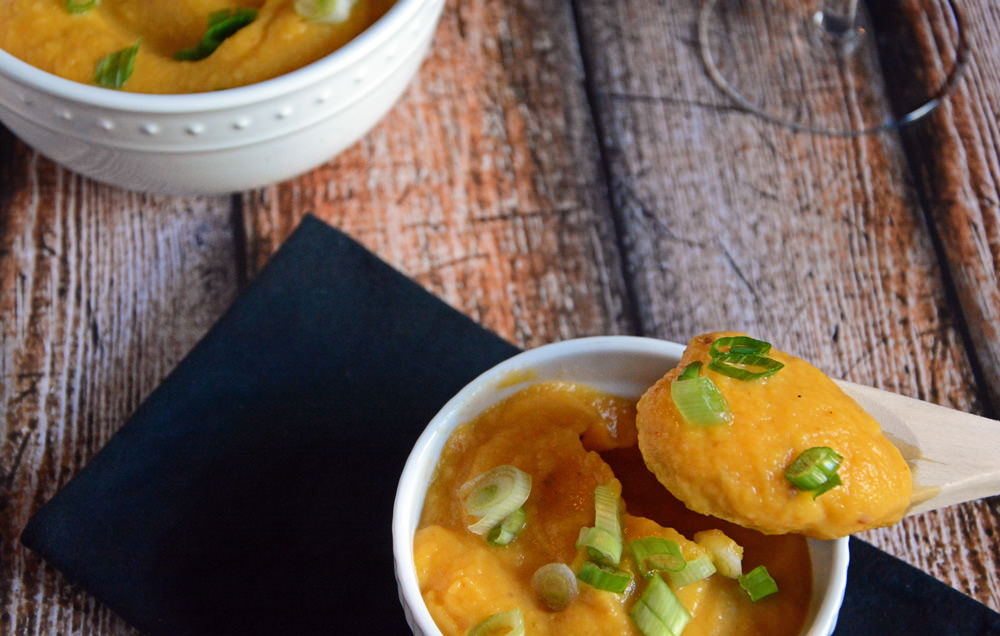 Chipotle Spiced Butternut Squash Puree