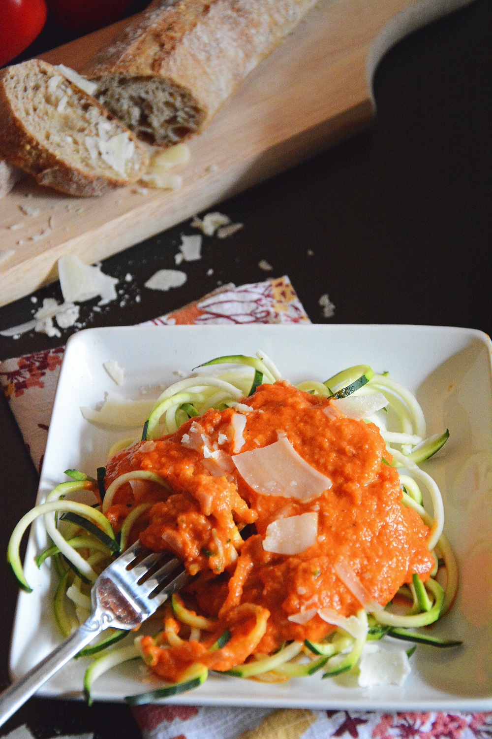 Roasted-Red-Pepper-Alfredo-with-Zucchini-Noodles-2