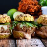 Chicken & Andouille Sausage Sliders