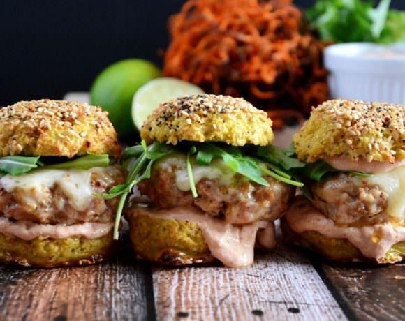 Chicken & Andouille Sausage Sliders