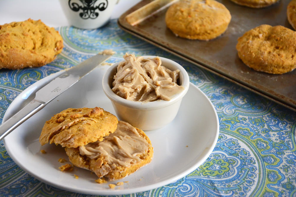 Sweet Potato Biscuits with Cinnamon Maple Butter   The Housewife in Training Files