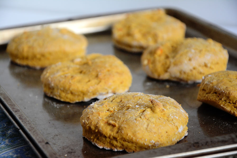 Sweet Potato Biscuits with Cinnamon Maple Butter | The Housewife in ...
