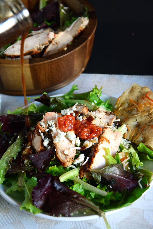 Grilled Chicken Bruschetta Salad   The Housewife in Training Files