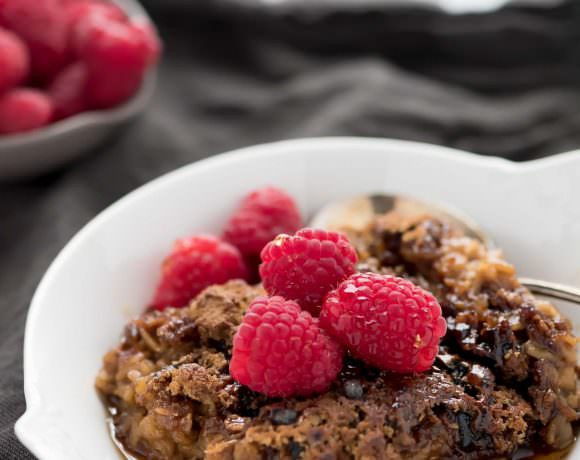 Creme Brulee Baked Oatmeal
