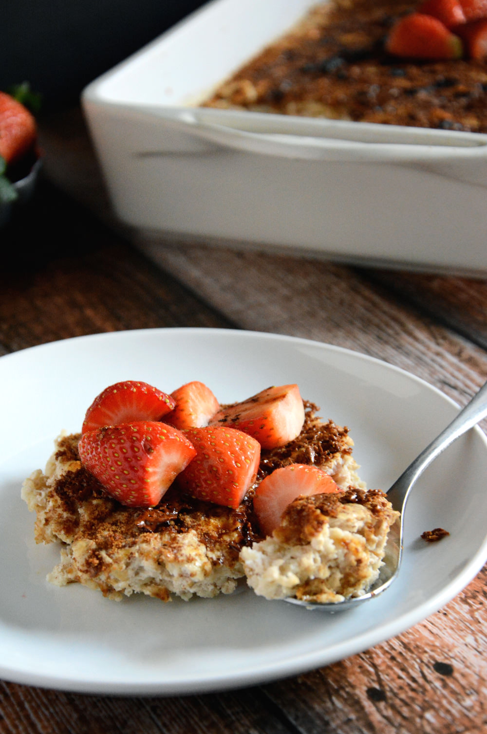 Creme Brulee Baked Oatmeal | The Housewife in Training Files