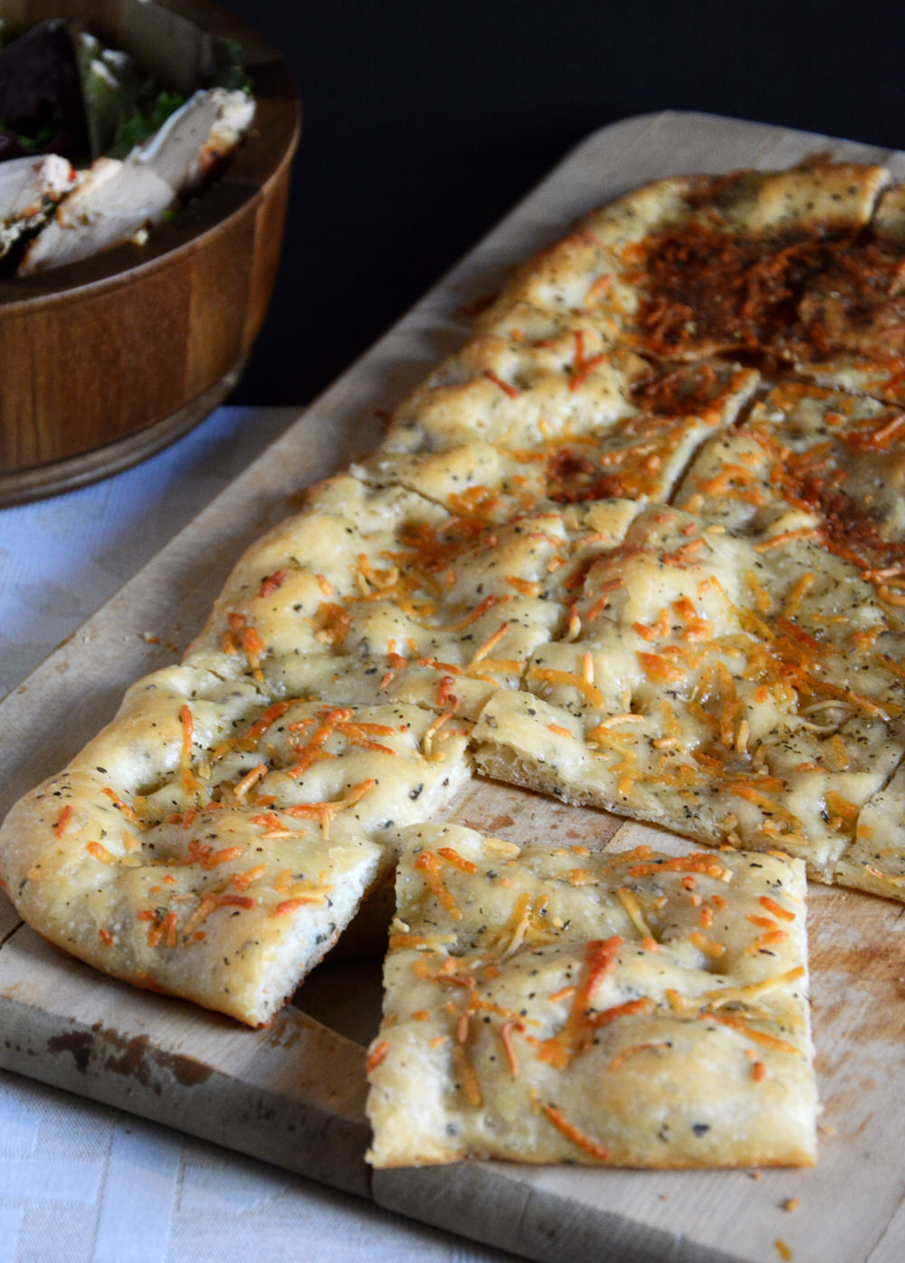 Simple Garlic Oil Focaccia | The Housewife in Training Files