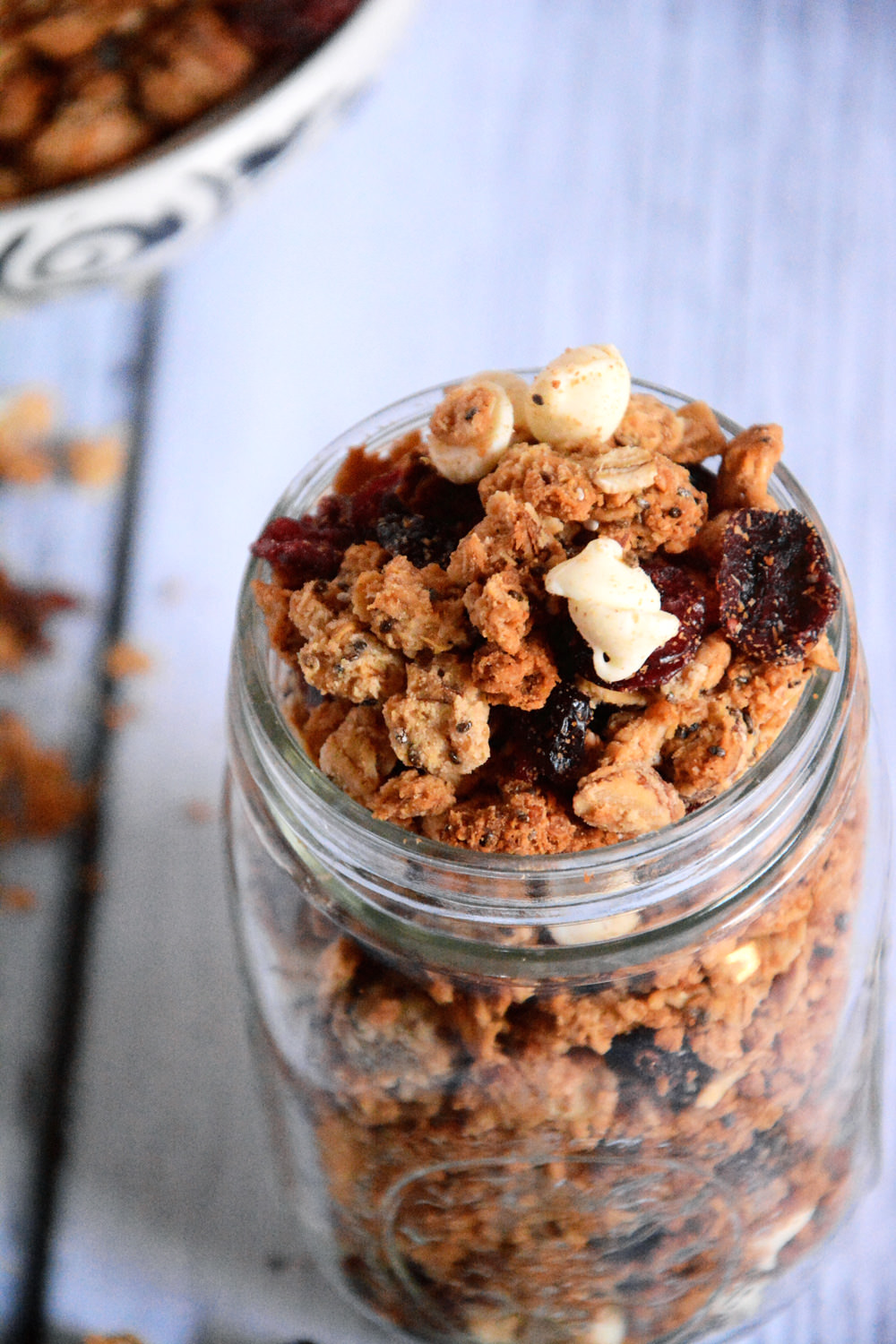 chocolate cranberry granola bar