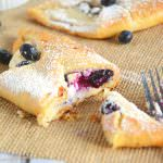 Blueberry & Honey Cream Croissants | The Housewife in Training Files