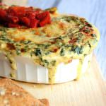Roasted Garlic Spinach & Artichoke Dip with Garlic Pita Chips | The Housewife in Training Files