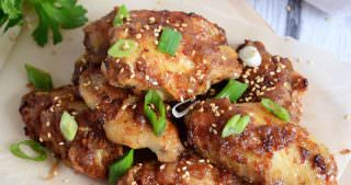 Bacon Jam Glazed Chicken Wings {My First Cookbook Contribution} + Primal Life Kit Sale!