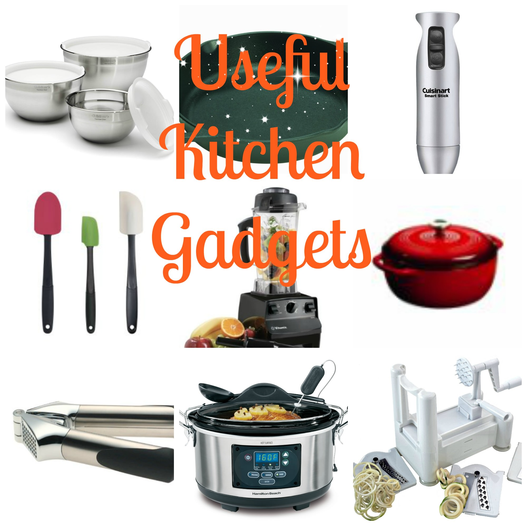 Useful Kitchen Gadgets collage