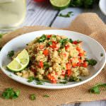 Red Pepper and Lime Quinoa Salad | The Housewife in Training FIles