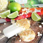 Frozen Lime Bars with Graham Cracker & Vanilla Yogurt Magic Shell