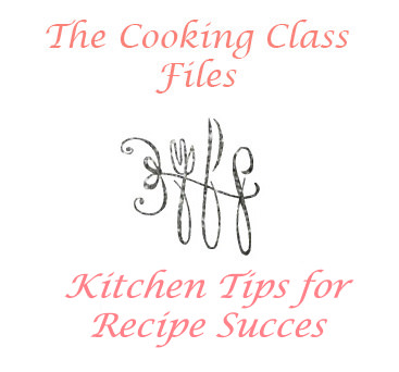 Kitchen Tips for Recipe Success | The Housewife in Training Files