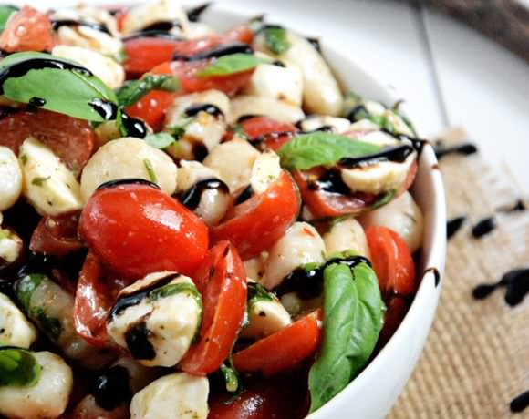 Gnocchi Caprese Salad