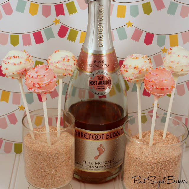 Champagne Cake Pops