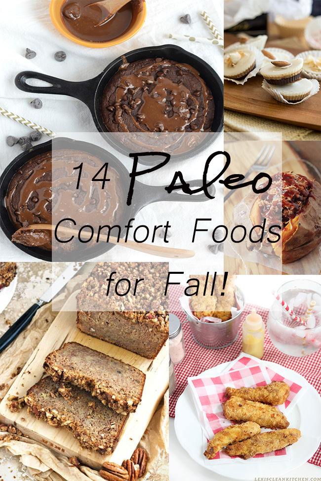 With September upon us, stick to your bones meals and tailgating recipes are the only things on my mind!  So with celebrating Labor Day (for all you in the US!) tomorrow and for a long weekend, I thought to share some of my favorite Paleo Comfort Foods for Fall!