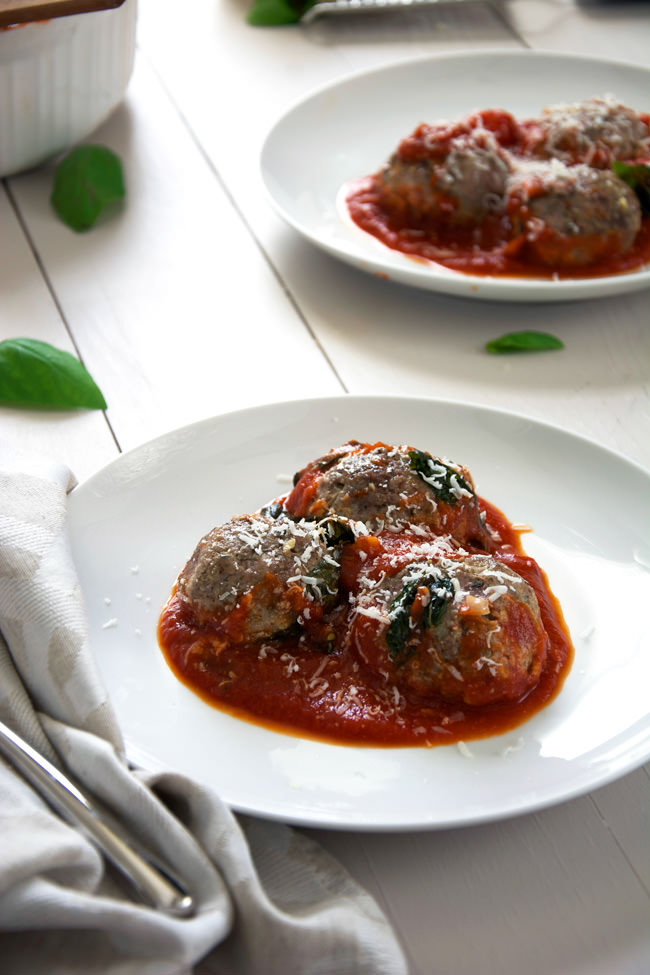 filled with creamy and tangy goat cheese are baked in a rustic tomato ...