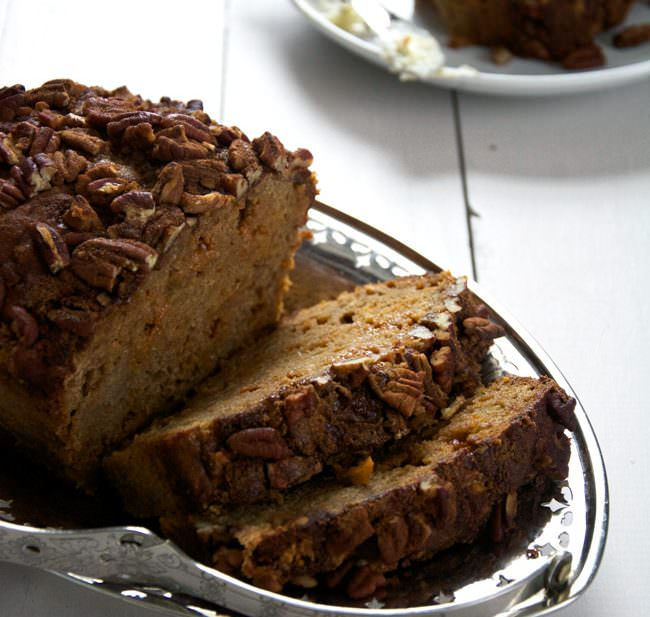 } Brown Butter Apple Bread with Butterscotch Chips and Cinnamon Pecan ...