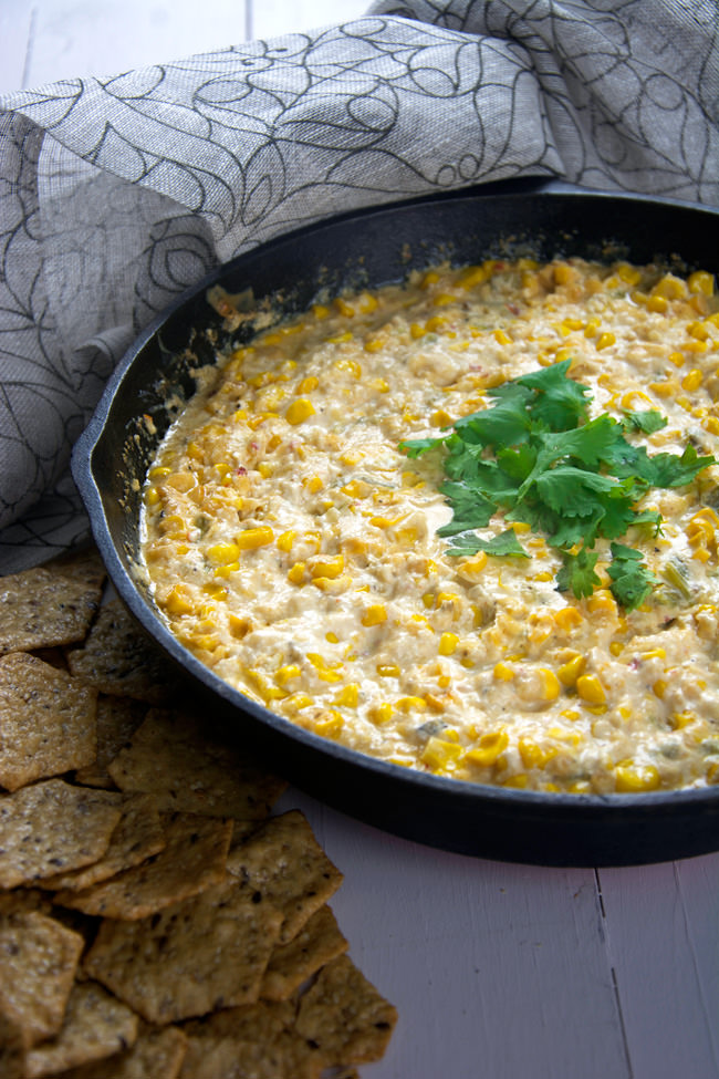 spicy dip made with chipotle gouda, sweet corn, roasted hatch chiles ...