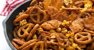 Cheesy Taco Snack Mix