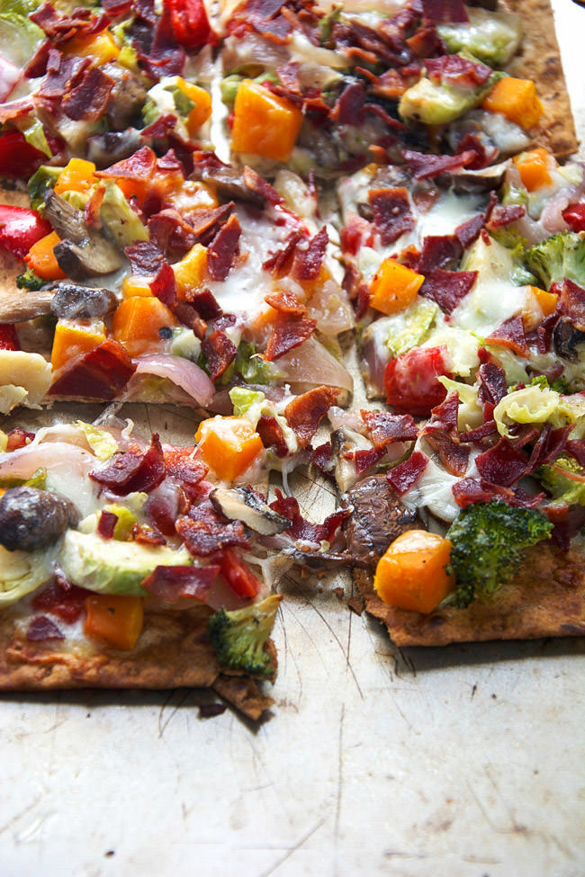 Roasted Veggie Flat Bread Recipes — Dishmaps