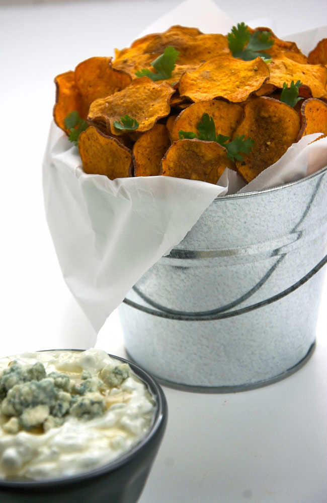 the most, the sweet potatoes , the sweet and savory greek yogurt dip ...