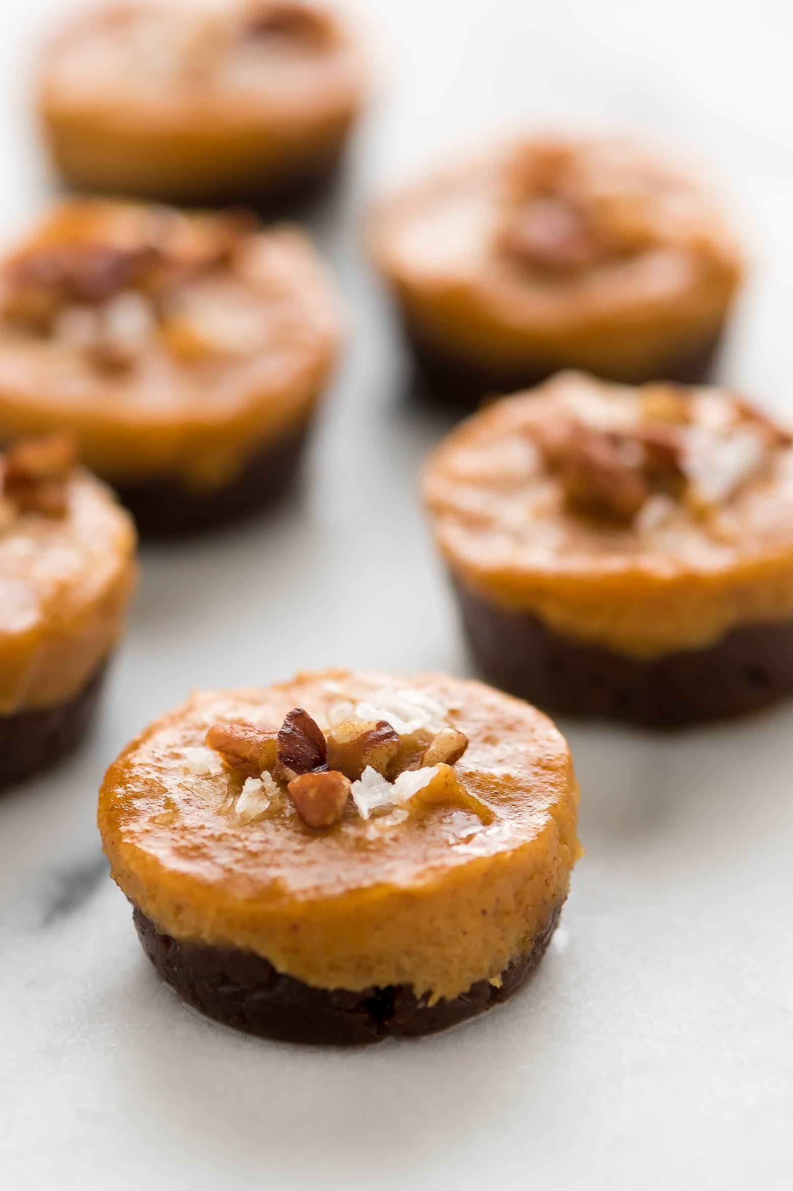 No Bake Pecan Pumpkin Pie Bites   Vegan, Easy, Best, Recipe, Gluten Free
