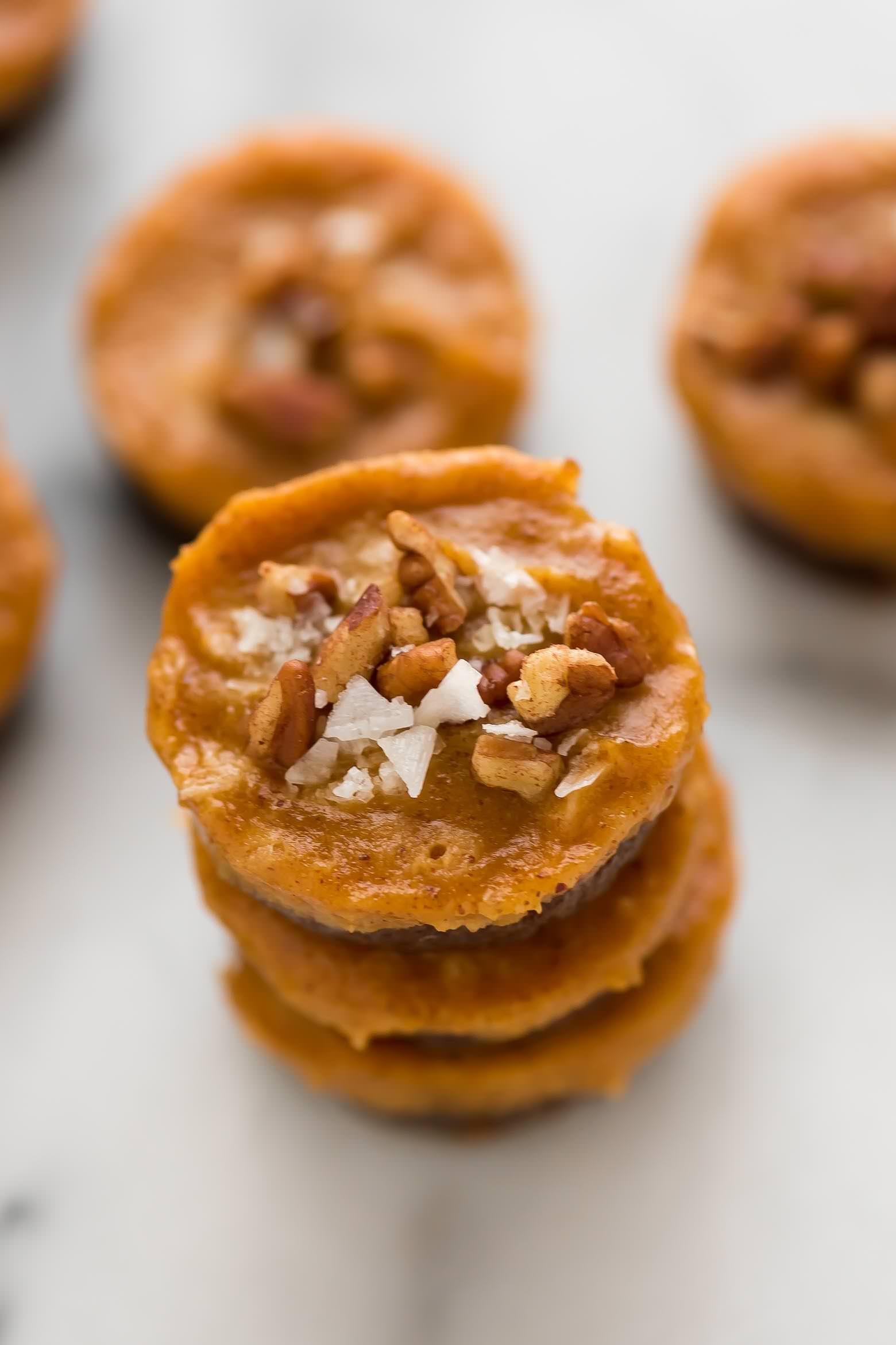 No Bake Pecan Pumpkin Pie Bites | Vegan, Easy, Best, Recipe, Gluten Free