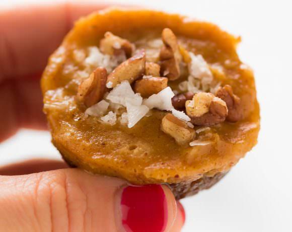 Paleo No Bake Pecan Pumpkin Pie Bites