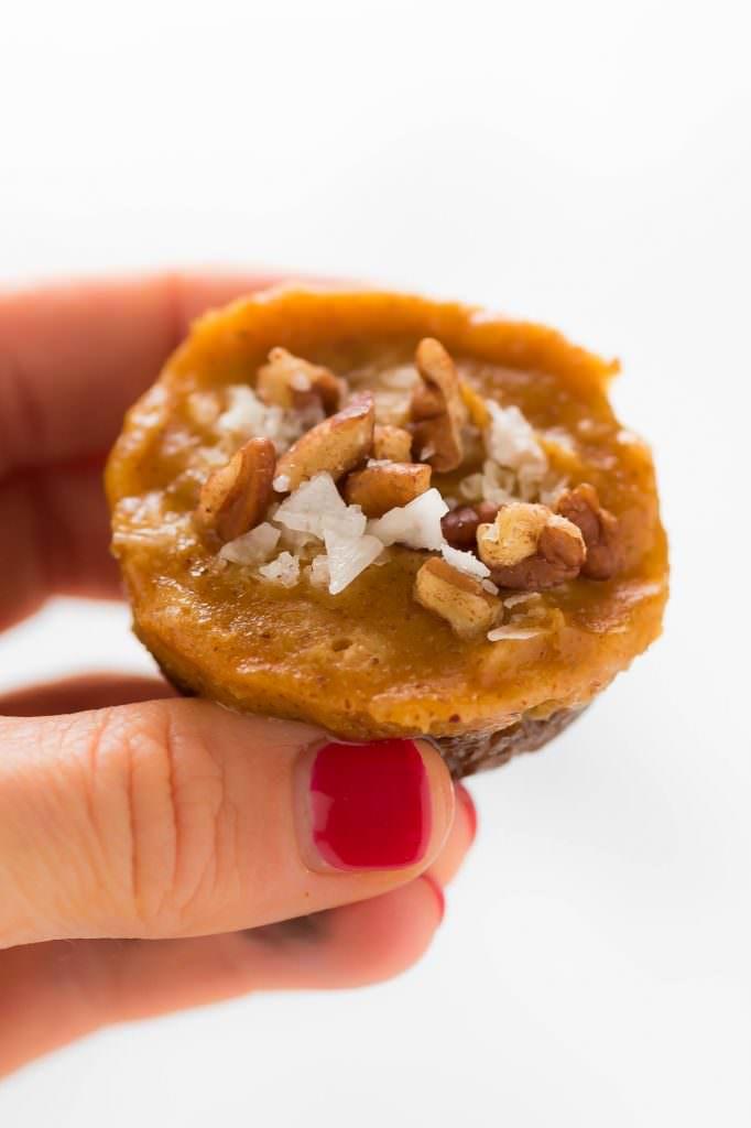 No Bake Pecan Pumpkin Pie Bites | Vegan, Easy, Best, Recipe, Gluten Free