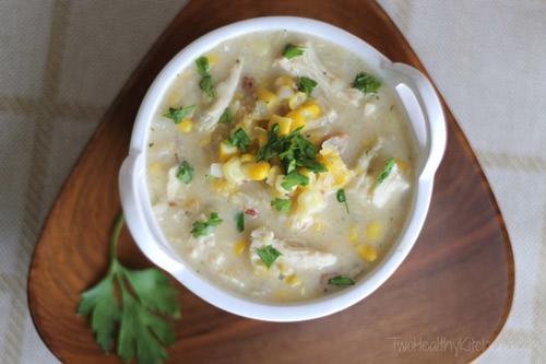 Crock Pot Creamy Chicken Corn Chowder