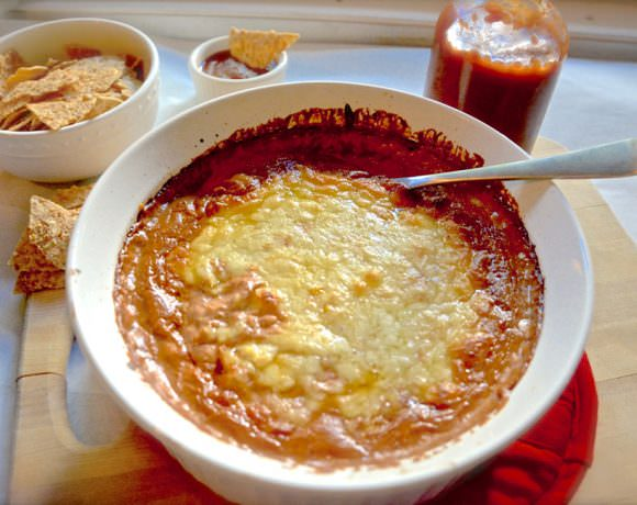 Caramelized Onion BBQ Beer Dip