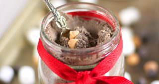 {Skinny} Peanut Butter Cup Hot Cocoa Mix