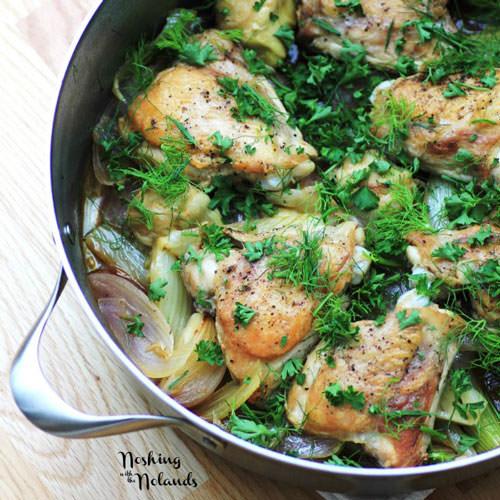 Chicken, Fennel and Artichokes