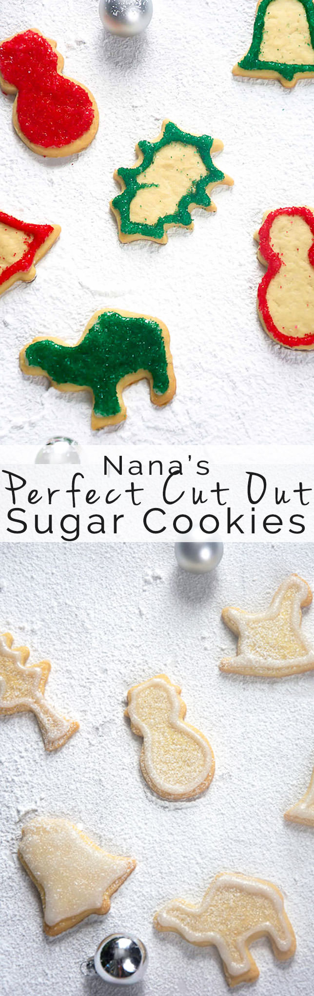 easy cut out sugar cookies recipe, holiday, Christmas, No Chill, Best, Icing, Frosting, decorating, perfect, shape, butter, birthday, how to make, mom,