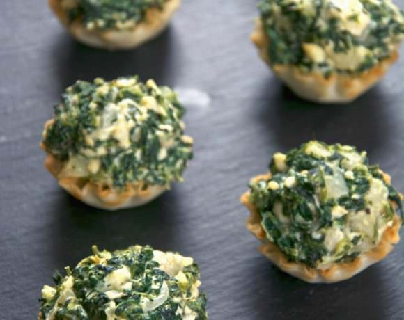 {Fool Proof} Creamy Spanakopita Tarts