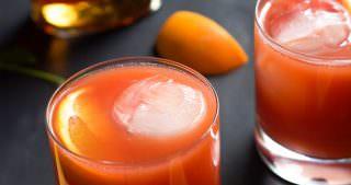 Blood Orange Bourbon Sunrise
