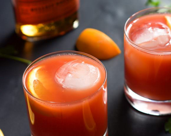 Blood Orange Bourbon Sunrise