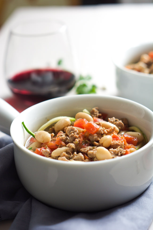 and healthy 30 minute soup! Tuscan Italian Sausage and White Bean Soup ...