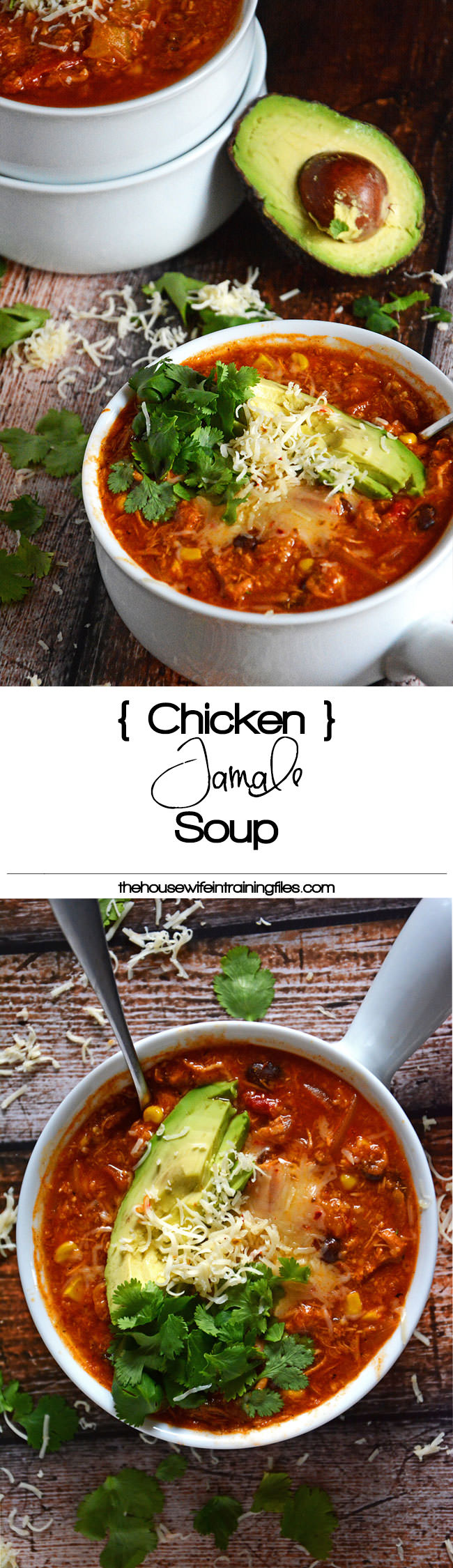 Chicken Tamale Soup is a full on spice with a slight sweetness much like your favorite tamale! Comes together quickly and is naturally gluten free! #glutenfree