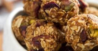 Fruit & Nut Trail Mix Energy Bites