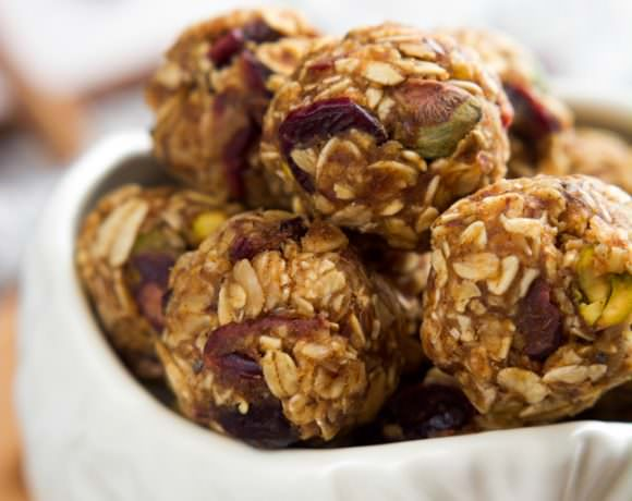 Fruit & Nut Trail Mix Energy Bites