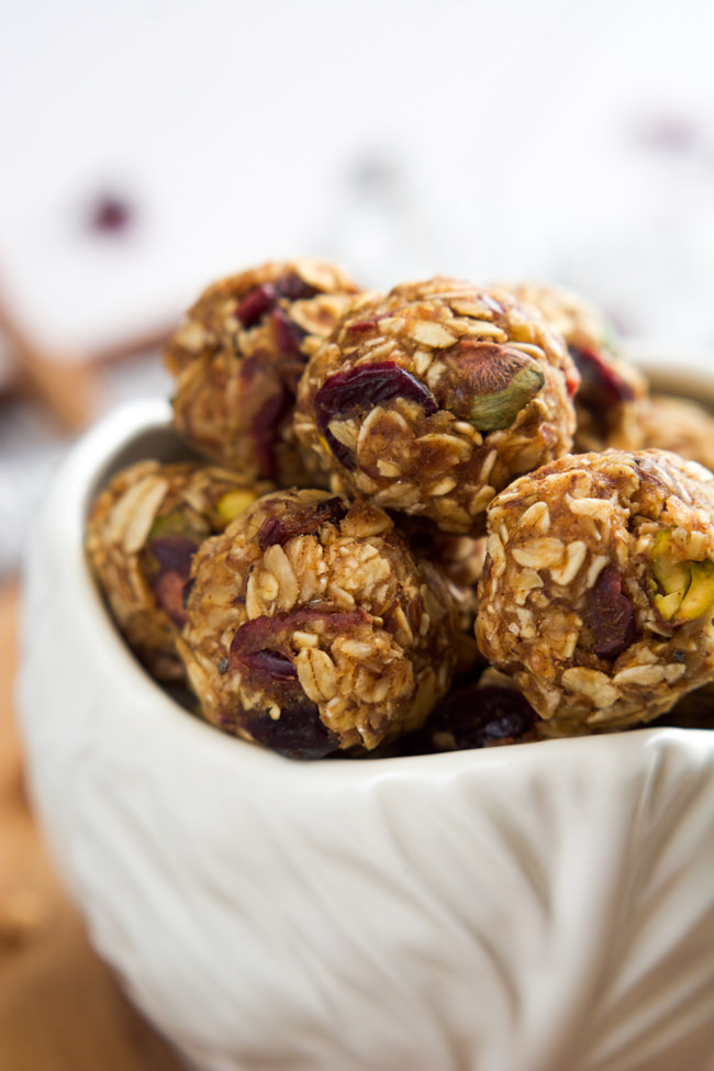 Dried Fruit And Nut Bites Recipe — Dishmaps