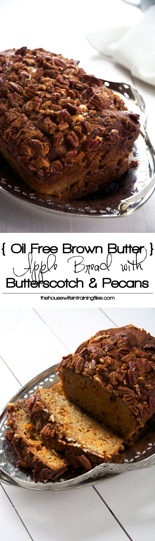 Free} Brown Butter Apple Bread with Butterscotch Chips and Cinnamon ...