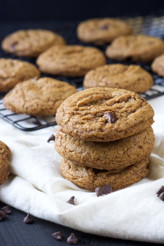 spin on the classic, these Chewy Whole Wheat Chocolate Chip Cookies ...