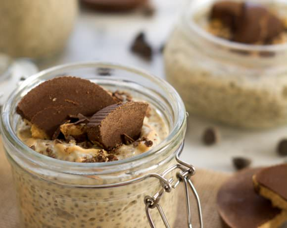 Peanut Butter Cup Chia Seed Pudding